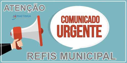 Maetinga: REFIS Municipal facilita pagamento de dívidas da população com o município