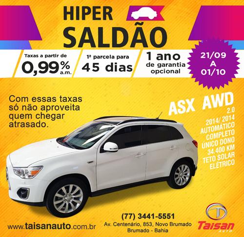 Está ainda mais fácil para você comprar o seu veículo no Hiper Saldão da Taisan Auto