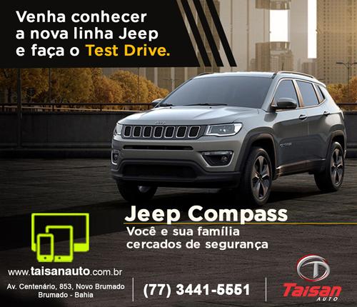 Compre na Taisan Auto o seu Jeep Compass