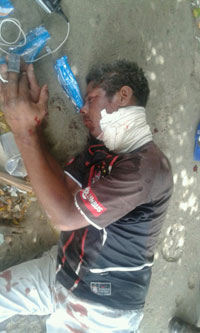 Tanque Novo: Homem sofre tentativa de homicídio