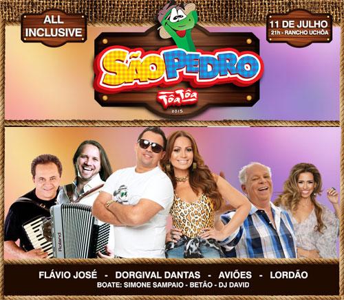 São Pedro Tôa Tôa, o evento mais esperado e desejado em toda região Sudoeste