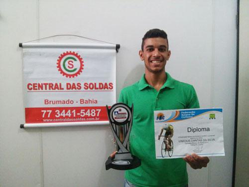 Brumadense é diplomado pela Federação Baiana de Ciclismo como Campeão