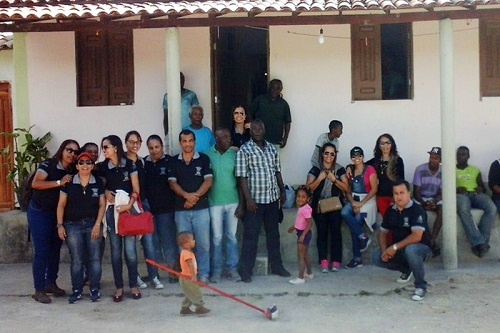 Quilombo Barra do Brumado recebe visita de alunos da UNEB do curso de História