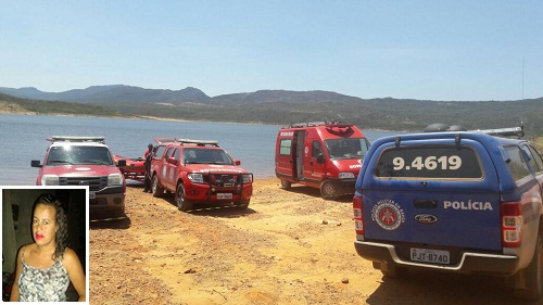 Um dos corpos de vítima de naufrágio é encontrado na barragem de Rio de Contas