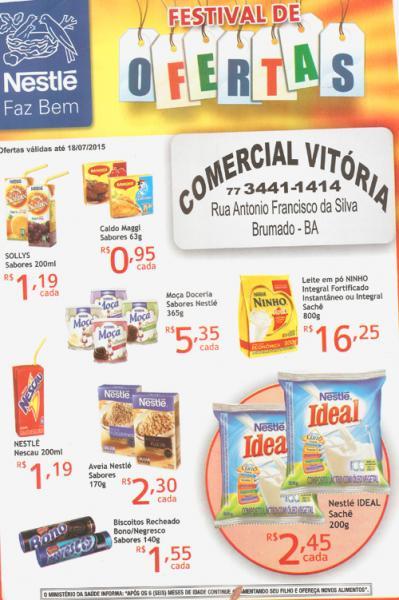 Festival de ofertas Comercial Vitória