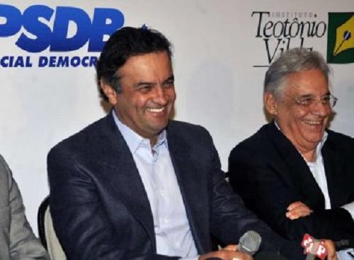 FHC e Aécio dizem a jornais argentinos que Dilma já não governa o país
