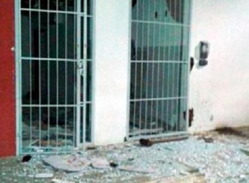 Irajuba: Grupo explode agências do Bradesco e dos Correios